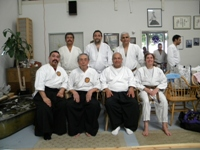 Texas Roppokai Group at a Seminar taught by Soshi Okamoto of Roppokai (Sep 2009)